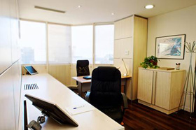 Rent serviced offices